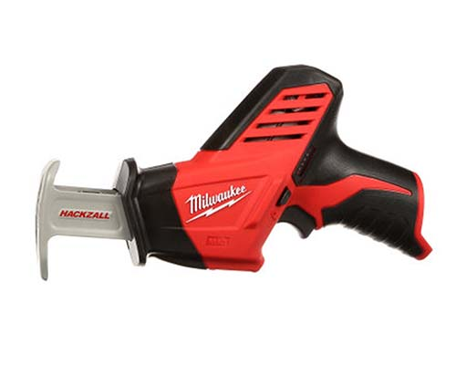 Milwaukee 2420 20 Bare-Tool 12-Volt Hackzall Saw