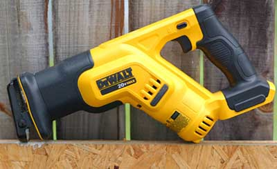DEWALT DCS387B 20-volt MAX Compact Reciprocating Saw