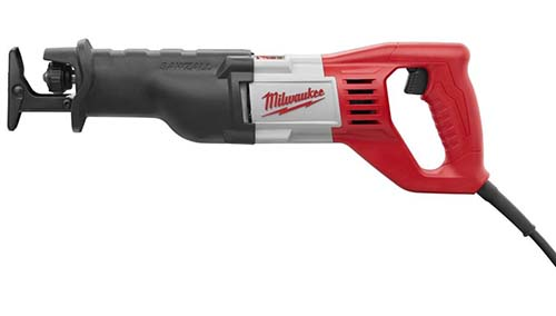 Milwaukee 6519 31 12 amp sawzall reciprocating saw kit