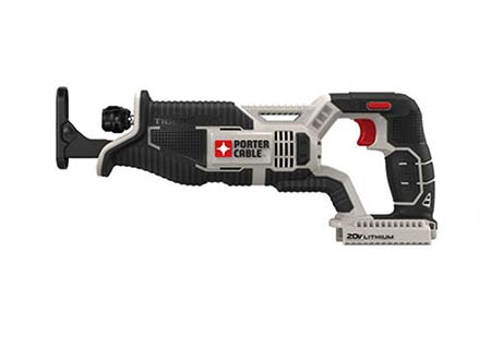 PORTER CABLE PCC670B 20-volt MAX Lithium Bare Reciprocating Tiger saw