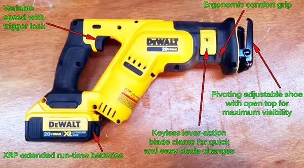Best cordless reciprocating saw in 2018 compared reviewed guide best cordless reciprocating saw 0001 greentooth Gallery