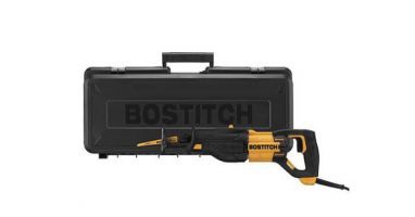 BOSTITCH BTE360K 8.5-Amp Orbital Reciprocating Saw Review