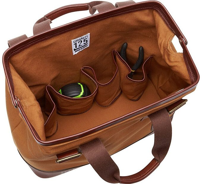 Carhartt Limited Edition- Made in the USA Tool Bag, Carhartt Brown 02