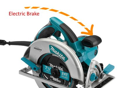 Circular Saw Electric brake