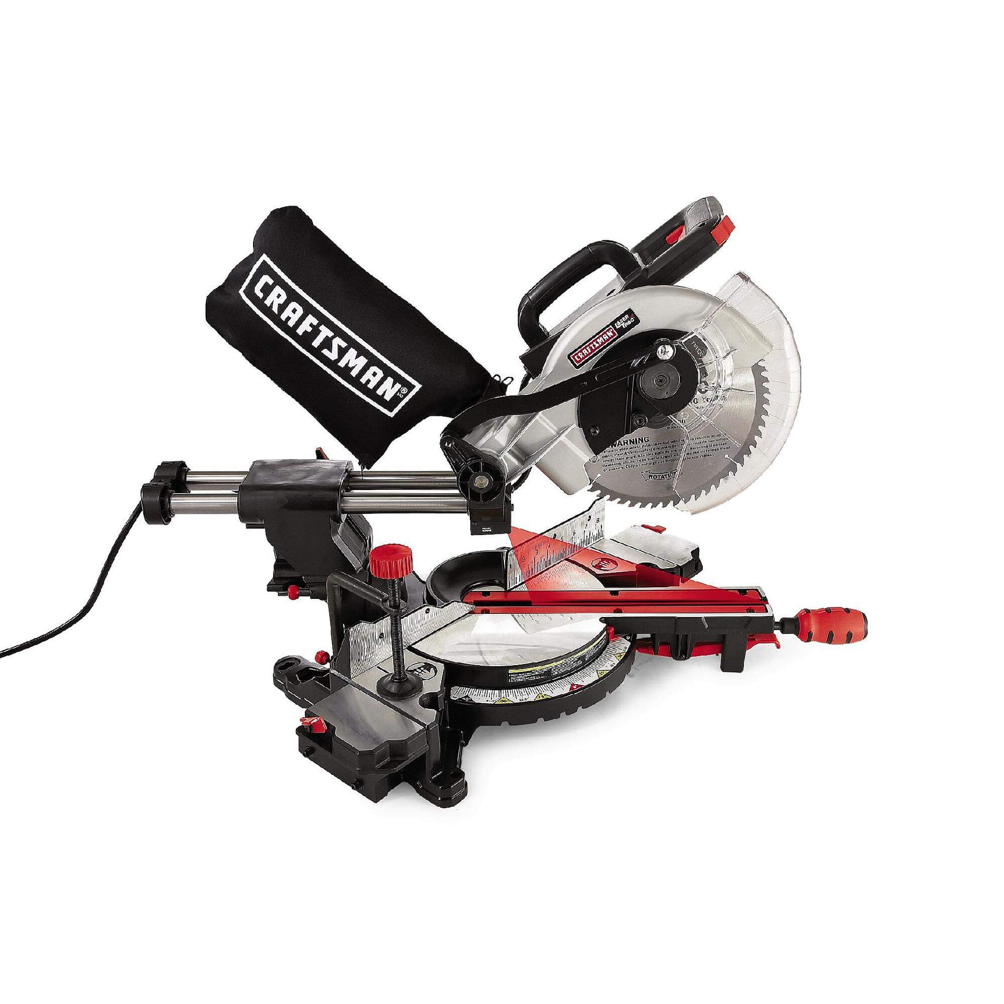Craftsman 10in Single Bevel Sliding Compound Miter Saw