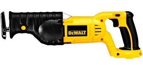 Best reciprocating saw in 2018 experts guide and reviews dewalt bare tool dc385b 18 volt cordless reciprocating saw greentooth Gallery