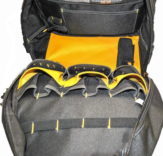 DEWALT DGL523 Lighted Tool Backpack Bag 05