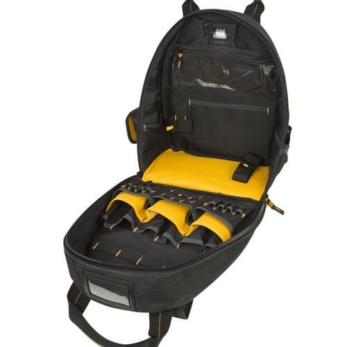 DEWALT DGL523 Lighted Tool Backpack Bag 07