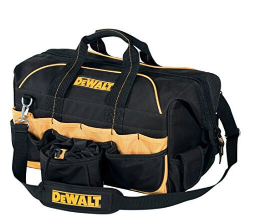 DeWalt 18 in. Pro Contractor's Closed Top Tool Bag