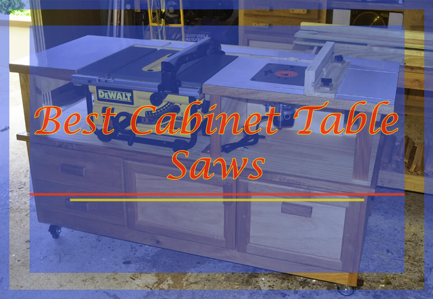 Best Cabinet Table Saws Reviews in 2018 | Knowledge Base