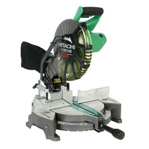 Hitachi C10FCH2 15 Amp Miter Saw