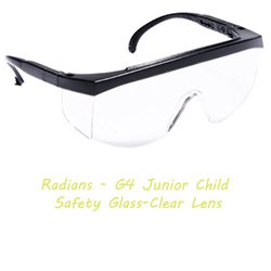 Radians Safety Glass-Clear Lens
