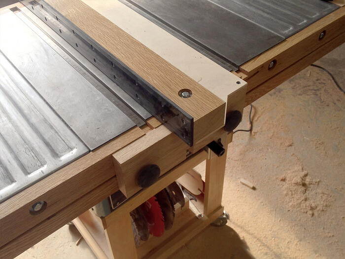 Table Saw Fence Plans