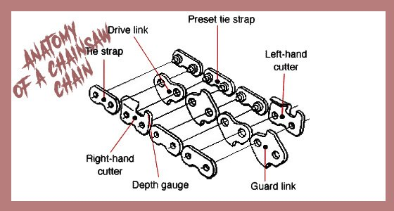 Best chainsaw chain in 2018 unbiased woodworkers guide anatomy of a chainsaw chain keyboard keysfo Image collections