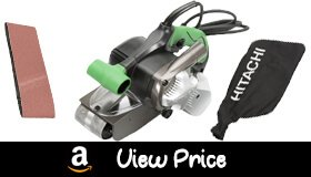hitachi belt sander. the hitachi belt sander